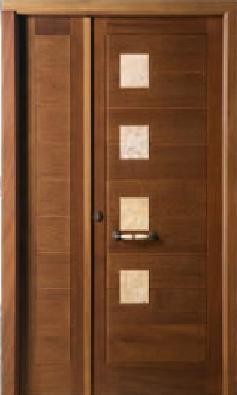 M motril for Puertas de madera exterior modernas