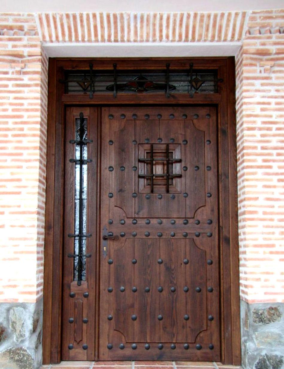 R mecina - Puerta madera rustica ...
