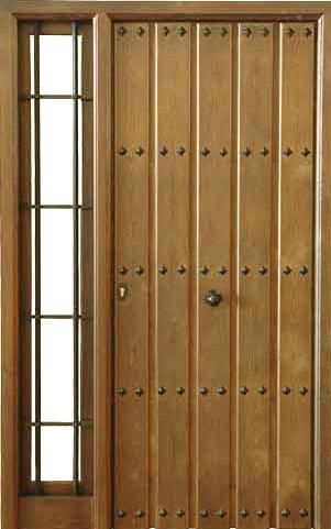 R yegen for Puertas de calle de madera