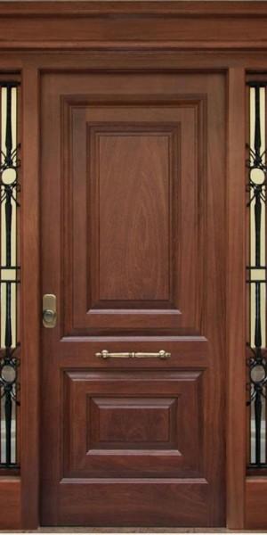 Casa de este alojamiento ventanas de madera iroko ingles for Puerta en ingles